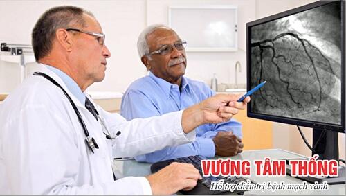 Chụp động mạch có thể phát hiện mức độ hẹp của mạch vành